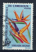 Cameroon, Flowering Plant, Strelitzia Reginae, Bird Of Paradise, 1966, VFU - Cameroon (1960-...)
