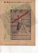 PROTEGE CAHIER-IMPRIMERIE DUCOURTIEUX LIMOGES-MAITRESSE DE MAISON- FRUITIER CONSERVATION FRUITS-CUISINE -CHARIER SAUMUR - Vloeipapier