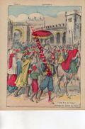 PROTEGE CAHIER- MAROC- UNE RUE DE TANGER -PASSAGE DU SULTAN DU MAROC- LA QUESTION MAROCAINE - Collections, Lots & Series