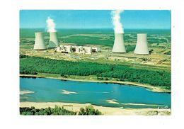 Cpm - 45 - DAMPIERRE EN BURLY - Loiret - La Centrale Nucléaire - Valoire 53801 - Other Municipalities