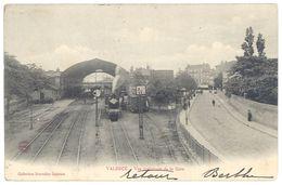 Cpa Valence  - Vue Intérieure De La Gare - Valence