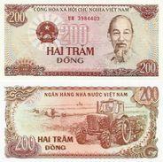 VN (b) - 1987 - 200 Dong (usée, Très Bon Etat) - Vietnam