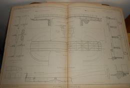 Plan D'un Type De Pont Tournant En Tôle Et Fer Spéciaux Du Canal De Caen à La Mer.1858 - Public Works
