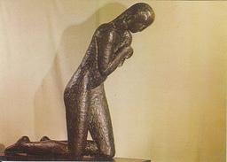 SCULPTURE, CONSTANTIN BRANCUSI- THE PRAYER - Sculpturen