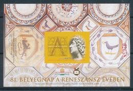 2008. 81. Stamp Day Exhibition - Commemorative Sheet - Feuillets Souvenir