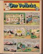 Verzamel Album  ONS VOLKSKE Van 30/04/1953 Tot 25/08/1953 17° Jaargang Nr 18 - 34 - Ons Volkske