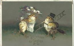 Joyeuses Pâques - M.B.R. - 1911 - Pasen