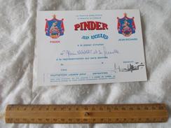 Invitation Au Cirque Pinder Jean Richard - Biglietti D'ingresso
