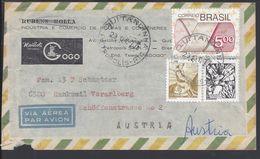 BRESIL - 1977 - Enveloppe De Rio De Janeiro à Destination De Rankweil (AUT) B/TB - - Brésil