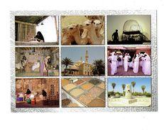 Cpm - United Arab Emirates - N°364 - Multivues - Chameau épices Pavillon De Phonographe - United Arab Emirates