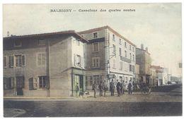 Cpa Balbigny - Carrefour Des Quatre Routes - France