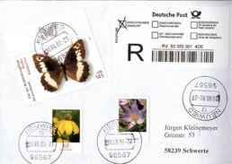 ! Lot Of 20 Cards + Covers Butterfly , Thematik Schmetterlinge - Schmetterlinge