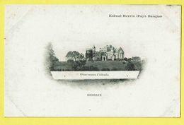* Hendaye (Dép 64 - Pyrénées Atlantiques - France) * (Eskual Herria Pays Basque) Observatoire D'Abbadia, Chateau, TOP - Hendaye