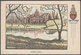 Bertram Armitage - Warwick School, Warwickshire, C.1940s - Postcard - Warwick