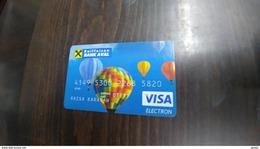 Ukrania-credict Card-(6)-(5820-173)-used Card+1 Card Prepiad Free - Geldkarten (Ablauf Min. 10 Jahre)