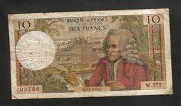 FRANCE - BANQUE De FRANCE - 10 Francs VOLTAIRE ( Q. 5 / 3 / 1970 ) Serie: W. 577 - 1962-1997 ''Francs''