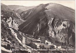 A015 S GREGORIO MATESE CASERTA MONTE MUTO E CASERMA FORESTALE DEL PASS S CROCE 1960 CIRCA - Caserta