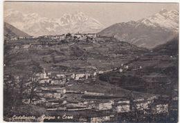 A016 CASTELMARTE COMO GRIGNE E CORNI 1950 CIRCA - Como