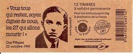 FRANCE - BOOKLET / CARNET, Yvert 3744b-c9 - 2007 - Marianne Des Français, 12x TVP Red - Booklets