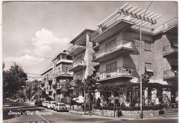 A018 SCAURI LATINA VIA MARCONI ANIMATA 1967 - Latina