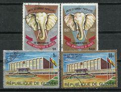 República De Guinea. 1967. Unidad Del Congreso Popular. - Elefantes