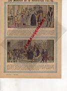 PROTEGE CAHIER -LES ANNALES DE LA REVOLUTION-1789-1799- ARRESTATION DE MADAME ROLAND-GIRONDINS POUR L' ECHAFAUD-1793- - Blotters