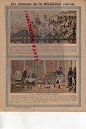 PROTEGE CAHIER -LES ANNALES DE LA REVOLUTION-1789-1799- CAMPAGNE ITALIE -PONT D' ARCOLE -BONAPARTE-TRAITE CAMPO FORMIO - Buvards, Protège-cahiers Illustrés