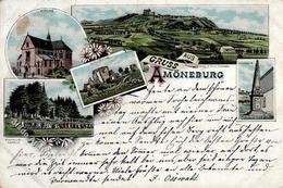 Amöneburg (3572) Lithographie 1902 II (fleckig VS) - Militaria