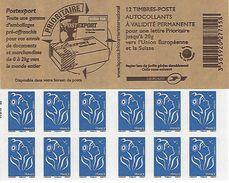 FRANCE - BOOKLET / CARNET, Yvert 4127-c1 - 2007 - Marianne Des Français, 12x TVP Red - Usage Courant