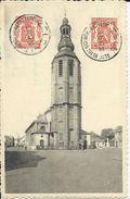 Zele    Toren En Kerk  (1700)   -    1947   Naar   Antwerpen - Zele