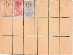 Carte De Pêche Permis De Pêche Taxes Piscicoles 1947, 1948,1949 Ain Gex - Unclassified