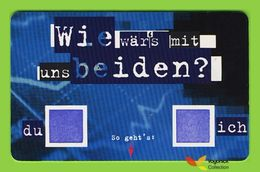 Voyo GERMANY WIE WÄR'S MIT ...  Used Phone Card 12DM 12/2001 Eurochip - Duitsland