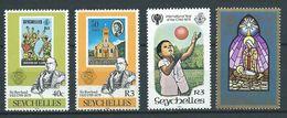 SEYCHELLES 1979 . N°s 418 , 420 , 423 Et 426 . Neufs ** (MNH) - Seychelles (1976-...)