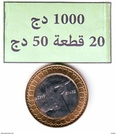 Algérie - Lion- Pièce Bimétallique UNC (issue De Rouleaux) 50.00 DA (Gazelle) 2017-1438. - Algeria