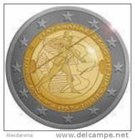 2 Euro Commemorativo Grecia- Battaglia Di Maratona 2010 - Grecia