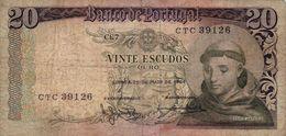 20  Escudos Portugal  1964 - Portugal