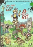 BD - Programme - 8ème Festival BD - Château-Gontier 30 Sept & 1er Oct 2017 [ill. Roger Widenlocher] - Andere Stripverhalen