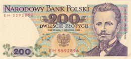 200 Zlote Pologne 1988 - Poland