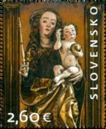 SK 2017-18 Oltár Sv. Jakuba V Chráme Sv. Jakuba V Levoči , SLOVAKIA, 1 X 1v MNH - Ungebraucht