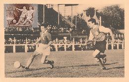 D32152 CARTE MAXIMUM CARD 1951 HUNGARY - SOCCER CP ORIGINAL - Soccer