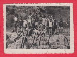 222582 / Black Sea BEACH NUDE Naked  BOY  GIRL Swimming Natation Schwimmen Bulgaria Bulgarie Bulgarien - Persone Anonimi