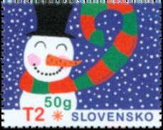 SK 2017-20 NEW YEAR, SLOVAKIA, 1 X 1v, MNH - Slowakische Republik