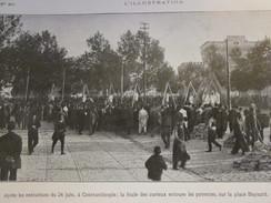1913  Les Pendaisons De CONSTANTINOPLE  Istambul Turquie Place Bayazid - Vieux Papiers