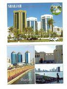 Lot 2 Cpm - United Arab Emirates - SHARJAH - N°152- 254 - Multivues - Voitures Pêcheur - United Arab Emirates