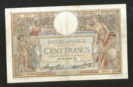FRANCE - BANQUE De FRANCE - 100 FRANCS  (AH. 13 - 2 - 1936)  LUC OLIVER MERSON - 1871-1952 Antiguos Francos Circulantes En El XX Siglo