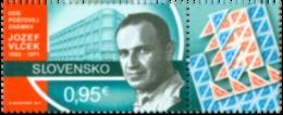 SK 2017-22  Jozef Vlček (1902 – 1971), SLOVAKIA, 1 X 1v, MNH - Ungebraucht