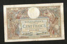 FRANCE - BANQUE De FRANCE - 100 FRANCS  (CN. 20 - 10 - 1932)  LUC OLIVER MERSON - 1871-1952 Antichi Franchi Circolanti Nel XX Secolo