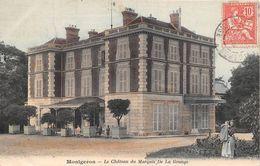 ¤¤  -  MONTGERON    -  Le Chateau Du Marquis De La Grange    -  ¤¤ - Montgeron