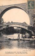 ¤¤  -  PIERRE-PERTUIS  -  Les Deux Ponts Sur La Cure   -  ¤¤ - France