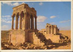 Libya - Postcard  Written 1986  - No Democracy Withhout Popular Congresses - 2/scans - Libya